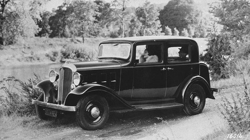 Citroën – model Rosalie z 1932 roku