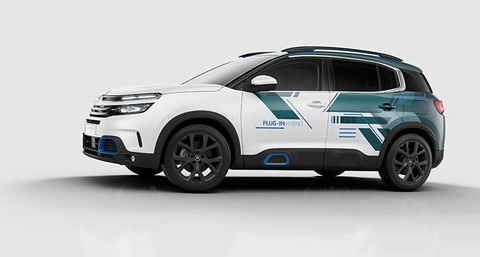 NOWY CITROËN C5 AIRCROSS SUV PLUG-IN HYBRID CONCEPT