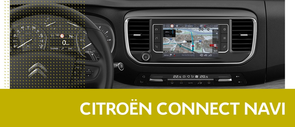 Citroen Connected Navi