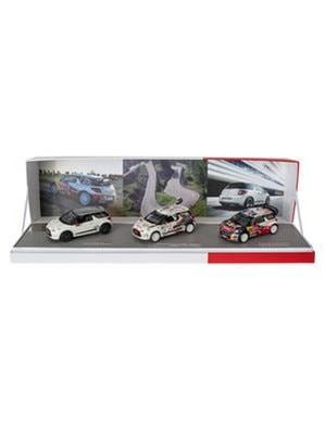 Boutique LifeStyle -  Zestaw Citroën DS3 Racing, DS3 R3 i DS3 WRC 2012 – 1:43