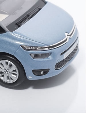 Boutique LifeStyle –  Nowy Citroën Grand C4 Picasso Bleu Teles 2013 – 1:43