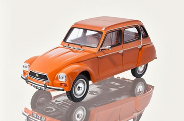 Boutique LifeStyle – Citroën Dyane Orange Ténéré 1974 – 1:43